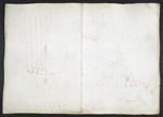 f. 109, displayed as an open bifolium with f. 110v: blank page