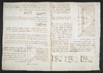 f. 111v, displayed as an open bifolium with f. 108: diagrams