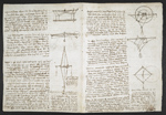 f. 117, displayed as an open bifolium with f. 118v: diagrams