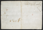 f. 119v, displayed as an open bifolium with f. 116: blank page