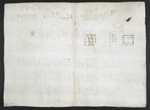 f. 130v, displayed as an open bifolium with f. 133: blank page