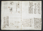 f. 132v, displayed as an open bifolium with f. 131: sketches and diagrams