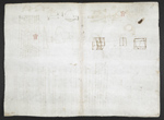 f. 133, displayed as an open bifolium with f. 130v: sketches