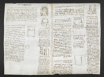 f. 141v, displayed as an open bifolium with f. 138: diagrams