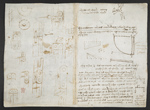 f. 146, displayed as an open bifolium with f. 150v: diagrams