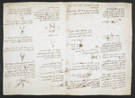 f. 170v, displayed as an open bifolium with f. 171: diagrams