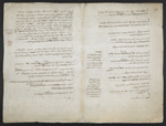 f. 176, displayed as an open bifolium with f. 173v: text page