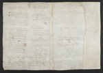 f. 181v, displayed as an open bifolium with f. 184: blank page