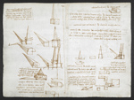 f. 182v, displayed as an open bifolium with f. 183: diagrams