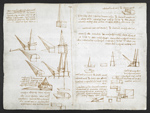f. 183, displayed as an open bifolium with f. 182v: diagrams