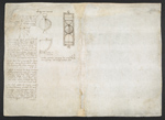 f. 237, displayed as an open bifolium with f. 242v: blank page