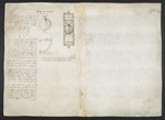 f. 242v, displayed as an open bifolium with f. 237: diagrams and notes