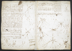 f. 243, displayed as an open bifolium with f. 248v: diagrams and sketches