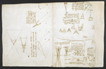 f. 244, displayed as an open bifolium with f. 247v: diagrams
