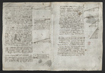 f. 245, displayed as an open bifolium with f. 246v: diagrams