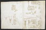 f. 247v, displayed as an open bifolium with f. 244: diagrams