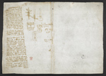 f. 249, displayed as an open bifolium with f. 252v: blank page