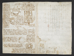 f. 263, displayed as an open bifolium with f. 270v: mathematical calculations