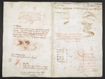 f. 278v, displayed as an open bifolium with f. 271: notes and sketches