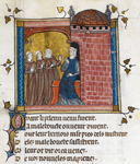 Faussemblant, Contrainte Atenance, and another speaking to Male Bouche