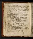 Text page with a song for Thomas Becket