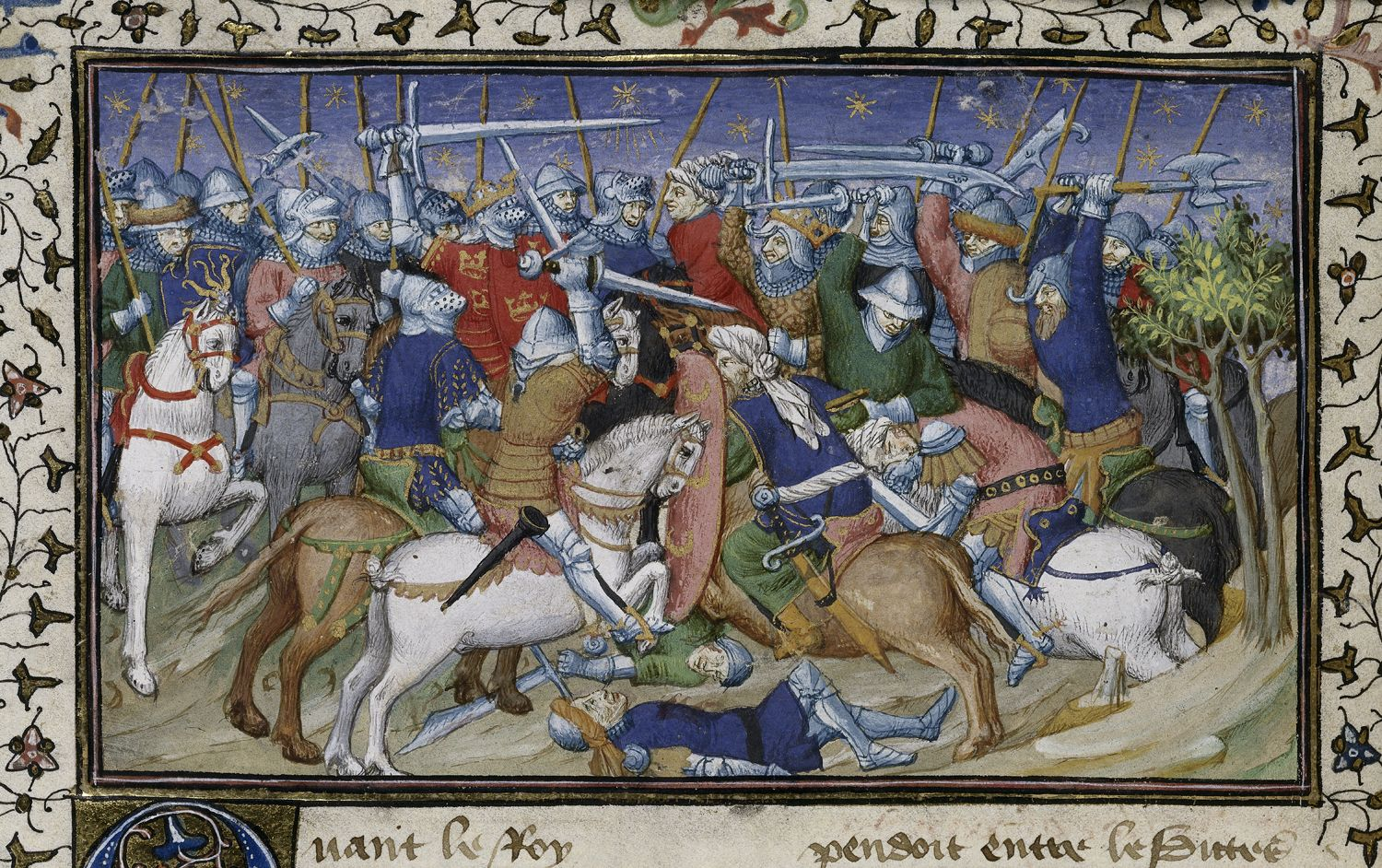 Battle of Alexander and Porrus