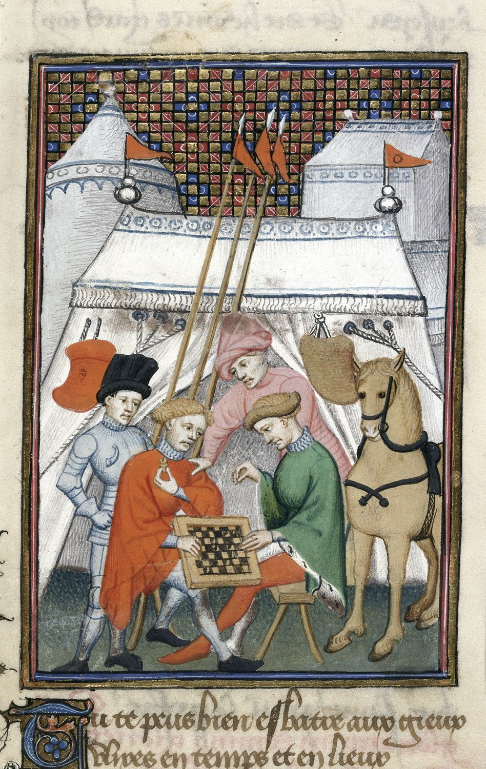 Ulysses playing chess