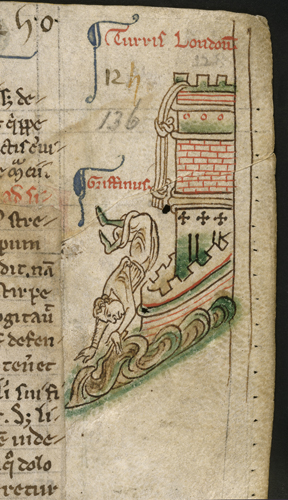 Griffin escaping from the Tower of London