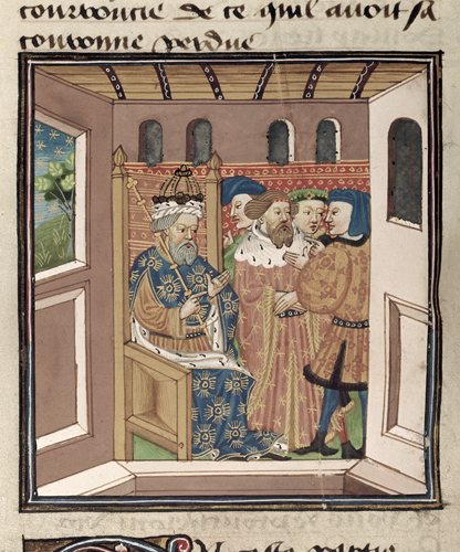 Charlemagne and his barons