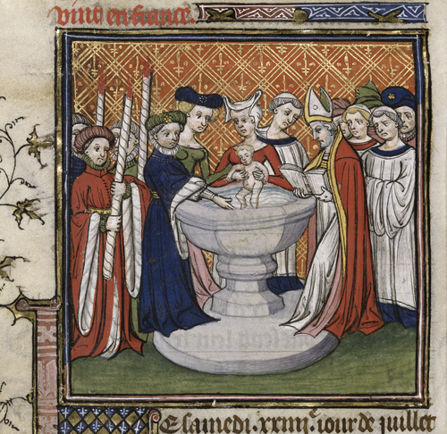 Baptism of Isabella