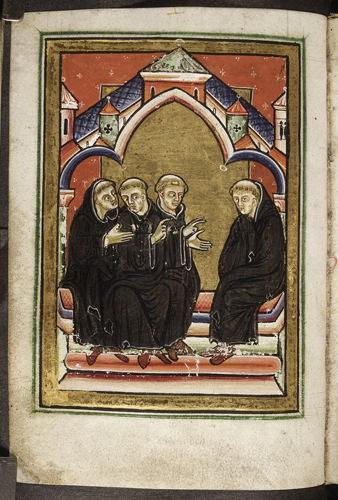 Cuthbert at a synod