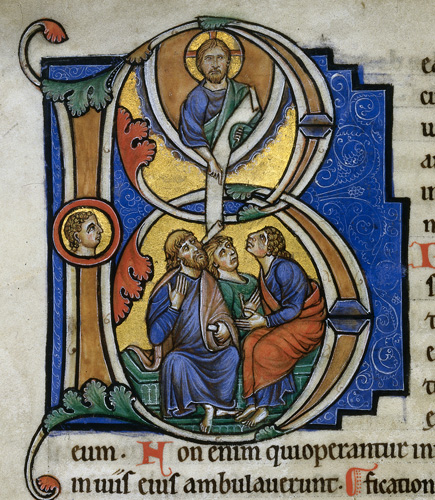 Christ with the Apostles