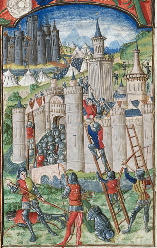 Assault on a city and castle