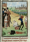 Beheading of Richard II's partisans