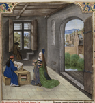 Fortune appearing to Boccaccio