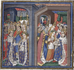 The wedding of Philip of France and Iolante of Sicily
