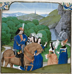 Jean de Courcy and the Virtues