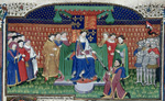 Henry VI enthroned