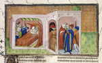 Death-bed of Philip