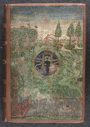 Egerton MS 2388, upper cover