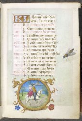 May, Egerton MS 1147, f. 10