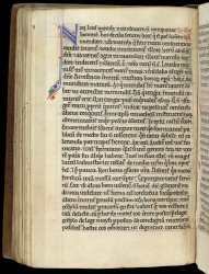 On this page, a small guide letter N is visible in the margin beside the initial, Stowe MS 35, f. 48v
