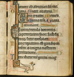 Note the cords linking the quires, Additional MS 49999, f. 48
