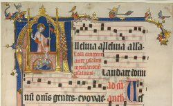 Yates Thompson MS 25 f. 1