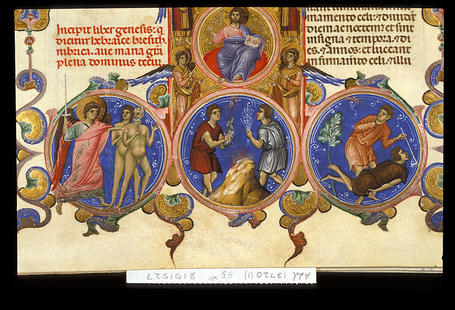 The Expulsion, Cain and Abel