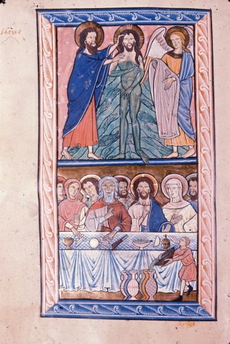 Baptism of Christ and Marriage at Cana
