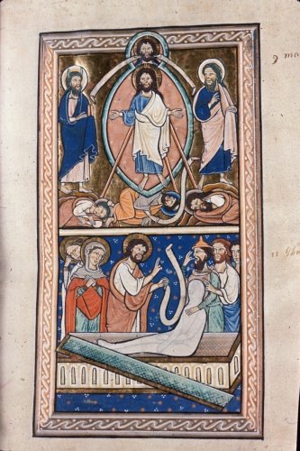 The Transfiguration of Christ and the Raising of Lazarus
