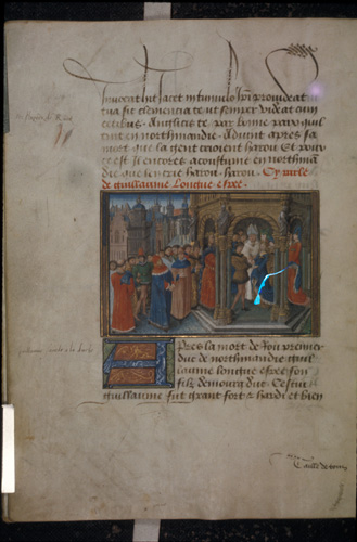 Rollo marrying the daughter of Charles the Simple