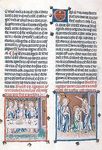 Apparition to the Apostles and the Doubting of Thomas