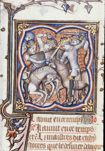Abraham defeating the kings